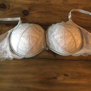 Victoria's Secret plunge lace push up bra 36DD